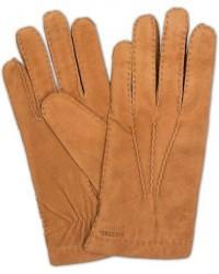 Hestra Arthur Wool Lined Suede Glove Cognac