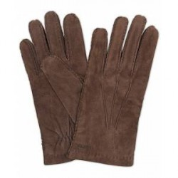Hestra Arthur Wool Lined Suede Glove Espresso Brown