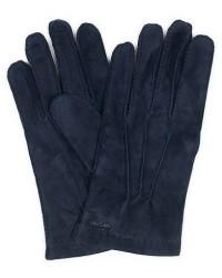 Hestra Arthur Wool Lined Suede Glove Navy men 7,5 Blå