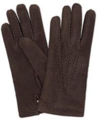 Hestra Carpincho Handsewn Cashmere Glove Espresso Brown men 7,5 Brun