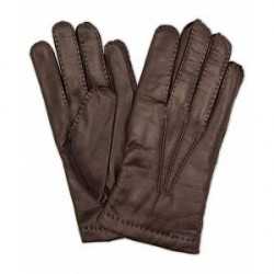 Hestra Edward Wool Liner Glove Espresso Brown
