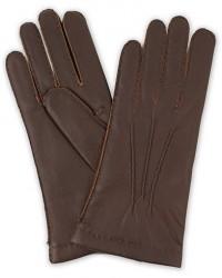 Hestra Elk Handsewn Cashmere Lined Glove Espresso Brown