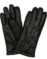 Hestra George Lambskin Hairsheap Glove Black