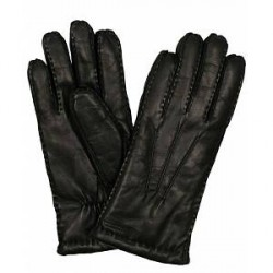 Hestra George Lambskin Hairsheap Glove Black