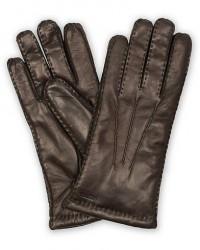 Hestra George Lambskin Hairsheep Glove Espresso