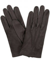 Hestra Henry Unlined Deerskin Glove Black