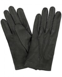 Hestra Henry Unlined Deerskin Glove Black men 7,5 Sort