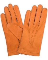 Hestra Henry Unlined Deerskin Glove Cognac men 9 Beige