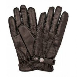 Hestra Jake Wool Lined Buckle Glove Black