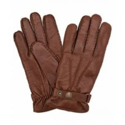 Hestra Jake Wool Lined Buckle Glove Chestnut