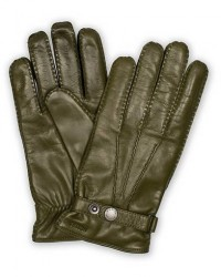 Hestra Jake Wool Lined Buckle Glove Green men 7,5 Grøn