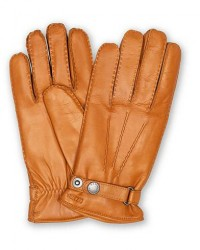 Hestra Jake Wool Lined Buckle Glove Kork men 10 Orange