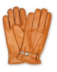 Hestra Jake Wool Lined Buckle Glove Kork men 8 Orange