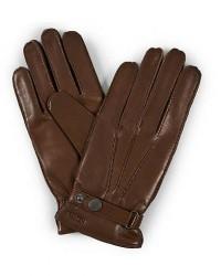 Hestra Jake Wool Lined Buckle Glove Light Brown men 8 Brun