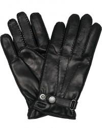 Hestra Jake Wool Lined Buckle Glove Navy