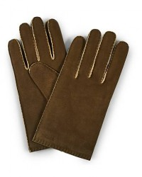 Hestra Philippe Chamoise Wool Lined Glove Loden men 9,5 Grøn
