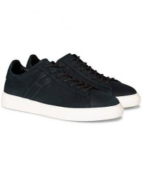 Hogan Tonal Low Sneaker Navy Nubuck men UK7 - EU41 Blå