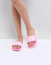 Hollister Colourblock Slider - Pink