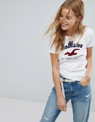 Hollister Diego Logo T-shirt - White