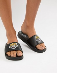 Hollister tiger sliders - Green