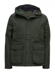Hooded Parka Forest Green