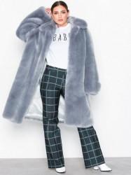 Hope Viva Fur Coat Faux Fur Blue