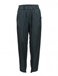 Houndstooth Cropped Pant