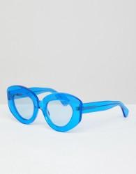 House Of Holland Cat Sunglasses - Blue