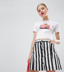 House Of Holland Exclusive Pirate Shrunken T-Shirt - White