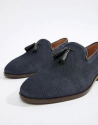 House Of Hounds Bain Tassel Loafers In Navy - Navy