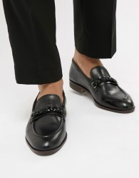 House Of Hounds Blain Bar Loafers In Black - Black