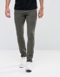 Hoxton Denim Super Skinny Jeans - Green