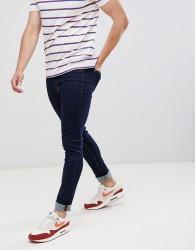 Hoxton Denim Super Skinny Jeans in Raw Indigo - Blue