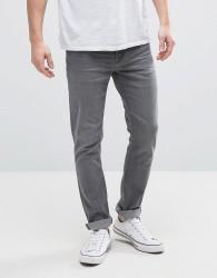 Hoxton Denim Washed Grey Skinny Jeans - Grey