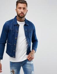 Hoxton Denim Workwear Denim Jacket - Blue