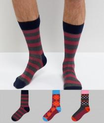 HS By Happy Socks 3 Pack - Multi
