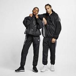 http://images.nike.com/is/image/DotCom/AR4941_010_C_PREM?wid=650&hei=650&qlt=90&fmt=png-alpha Vævet Nike Sportswear-anorak - Bla