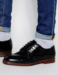 Hudson London Clay Derby Shoes - Black