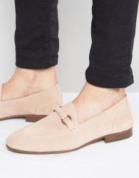 Hudson London Renzo Suede Loafers - Pink