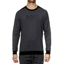 Hugo Boss BOSS Loungewear Tracksuit Sweatshirt - Black * Kampagne *