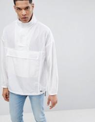 HUGO Overhead Jacket In White - White
