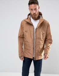 Hunter Hooded Parka in Sand - Beige