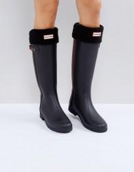 Hunter Original Black Tall Boot Socks - Black