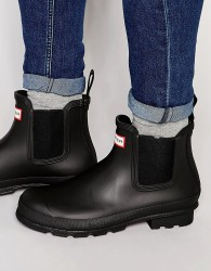 Hunter Original Chelsea Wellington Boots - Black