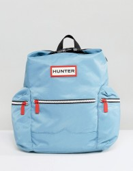 Hunter Original Mini Pale Blue Nylon Backpack - Blue