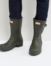 Hunter Original Short Wellington Boots - Green