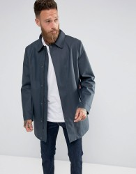 Hunter Rubberised Coat in Navy - Navy