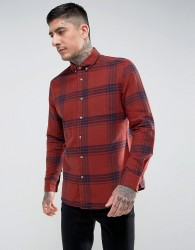 Hymn Check Shirt - Orange