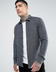 Hymn Quilted Shirt - Grey