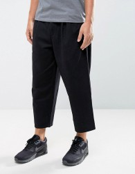 Hymn Two Pleat Trousers - Black